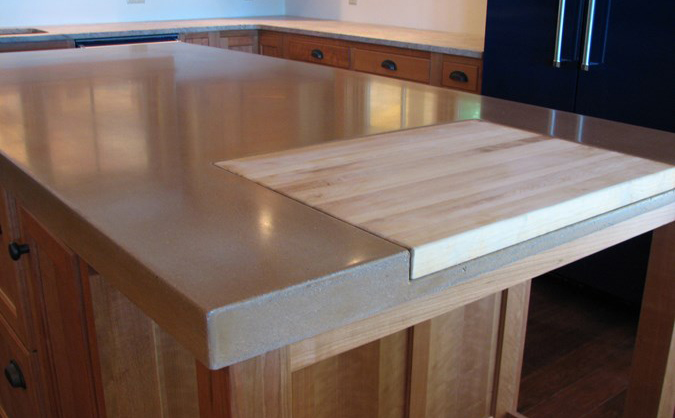 9 Examples of Concrete Countertops Done Right  DesignCast Concrete - Cleaning Butcher Block Counter