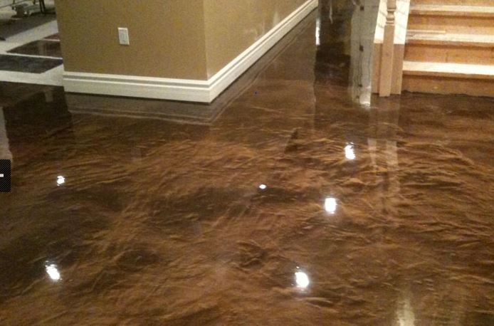 All about concrete staining acid stains v acetone stains for How to clean concrete floors before staining